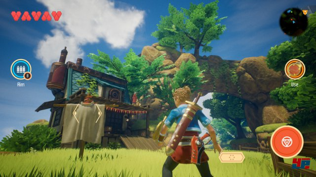 Screenshot - Oceanhorn 2: Knights of the Lost Realm (iPhone) 92545860