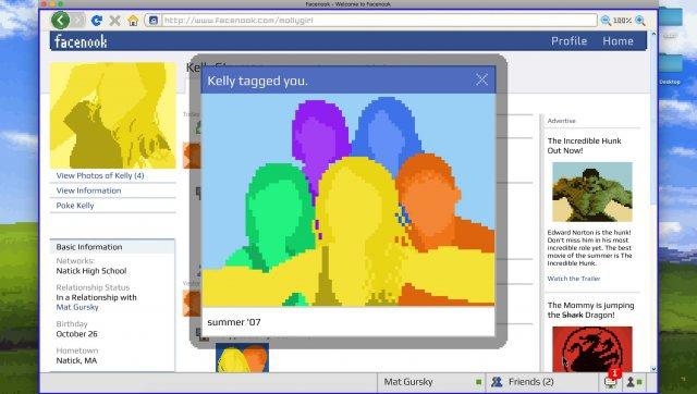 Screenshot - Emily is Away <3 (PC)