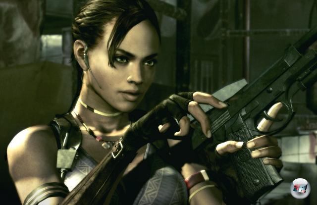 Sheva Alomar<br><br>Was würde Chris Redfield eigentlich ohne die Frauen an seiner Seite tun? Der arme Tropf könnte sich vermutlich nicht mal seinen Brustpanzer zubinden, ohne dass mindestens drei bis an die manikürten Nägel bewaffnete Supermodels um ihn herum postiert sind. Uns kann's recht sein, denn dadurch hat Sheva ihren Auftritt in Resident Evil 5: Die gute Frau ballert und prügelt fleißig mit, leistet Transporthilfe und gibt sich schon mal als Stütze her, wenn der feine Herr mal einen Abgrund überspringen muss. Nur kochen kann sie nicht. 1898303