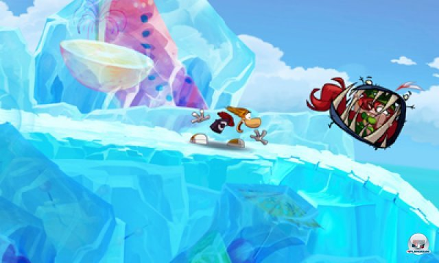Screenshot - Rayman Origins (3DS)