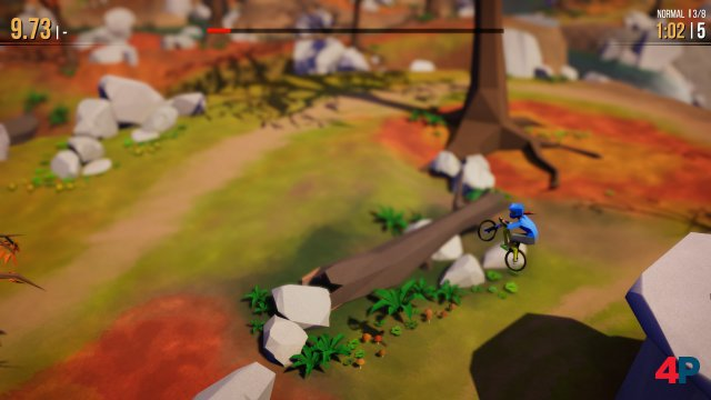Screenshot - Lonely Mountains: Downhill (PC)