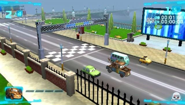 Screenshot - Cars 2 (PSP) 2247902