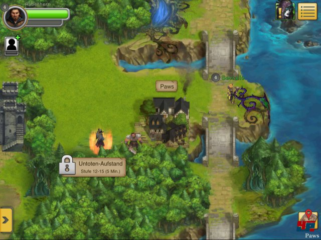 Screenshot - Ultima Forever: Quest for the Avatar (iPad) 92476969