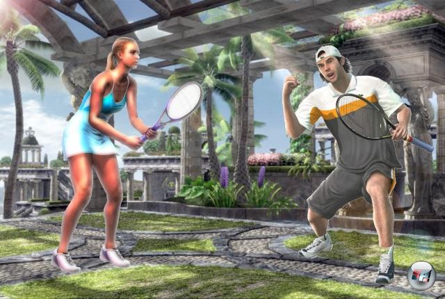 Runde Sechs: Virtua Tennis vs. Top Spin<br><br>Wie stellt man sich eine Rivalität zwischen Tennisstars vor? Ist das eine Tonya Harding-kompatible Brechstange-gegen-das-Schienbein-Sache? Ein »Du bist doof! - Nein, du bist doof! - Ach, kuck dich doch an, wie doof du bist! - Du vielvielviiiel doofer als wie ich bin!«-Schlagabtausch? Oder doch das klassische High Noon-Duell: Pick... Pock... Pick... Pock... Pick... Pock... Pick... Pock... Pick... Pock... Pick... Pock... Pick... Pock... 1778278