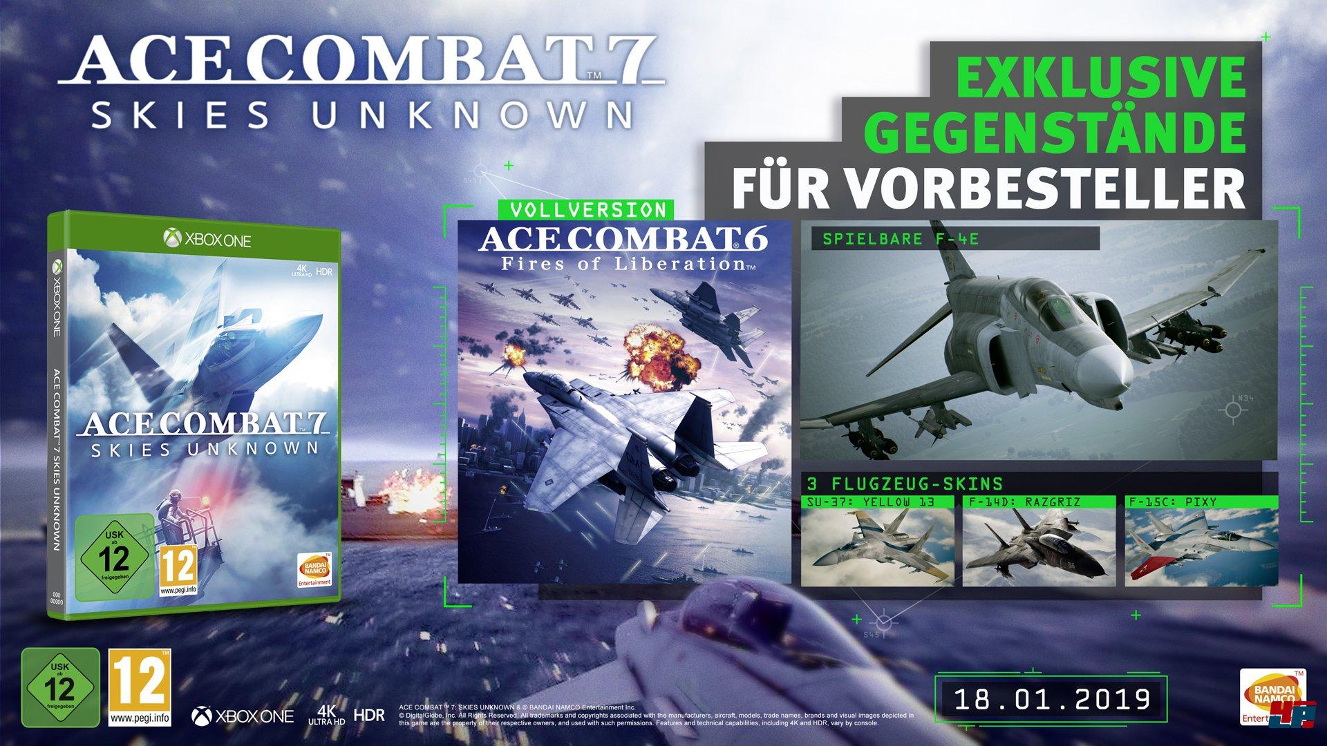 Ace Combat 7: Skies Unknown: Vorbestellerboni, Season Pass