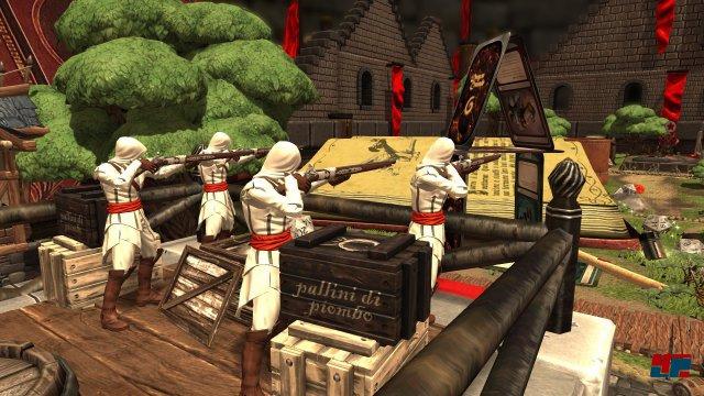 Auch Ezios Assassinen sind ein Bestandteil der erweiterten Edition, können aber wie alle Zusatzarmeen auch separat erworben werden.