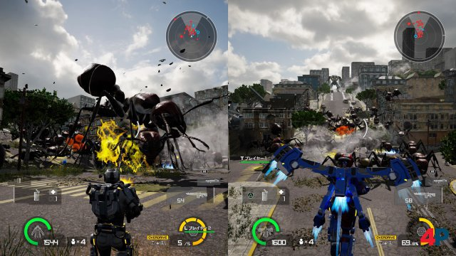 Screenshot - Earth Defense Force: Iron Rain (PC)