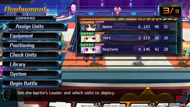 Screenshot - Hyperdevotion Noire: Goddess Black Heart  (PC)