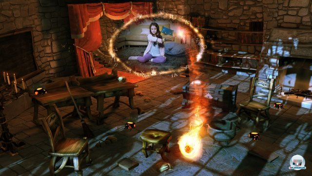 Screenshot - Wonderbook: Book of Spells (PlayStation3)