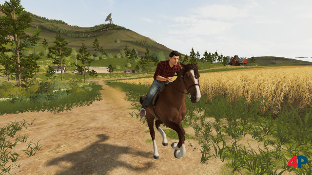 Screenshot - Landwirtschafts-Simulator 20 (Switch)