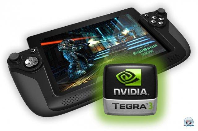 <b>Wikipad</b><br><br> Noch ein Gaming-Tablet mit Android: Das für dieses Jahr angekündigte Wikipad vom gleichnamigen Hersteller ist kompatibel zu Spielen aus Googles Play-Store, Sonys PlayStation Mobile-Angebot und durch den verbauten Tegra 3-Chip auch zu Titeln aus Nvidias TegraZone. Der ips-Screen mit 1280 x 800 Pixeln könnte eine ganze Ecke wertiger ausfallen als die der Konkurrenz, auch der Preis liegt mit 499 Dollar deutlich höher. Wer möchte, kann das Tablet aus dem Controller-Aufsatz herausnehmen und nur den Touchscreen nutzen. 92438032