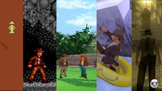 <br><br>Und auch ein Professor für Archäologie lebt nicht vom Finden der Bundeslade allein: Indiana Jones hat in seiner langjährigen Karriere mittlerweile viele Genres durchlebt; vom Action-Adventure über das furchtbare Jump-n-Run und das zeitlose Point-n-Click-Abenteuer bis hin zum dezent belanglosen Tomb-Raider-ohne-Möpse-Verschnitt war alles dabei. Oh, apropos: Wann kommt eigentlich ein Lara Croft-Kart? 1974843