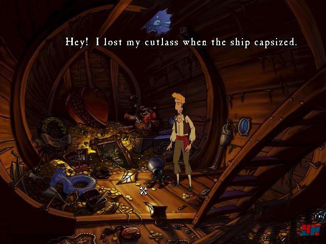 Screenshot - The Curse of Monkey Island (PC)