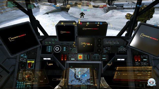 Die detaillierten und von Mech zu Mech unterschiedlichen Cockpits sind ein Kernelement des Spiels.