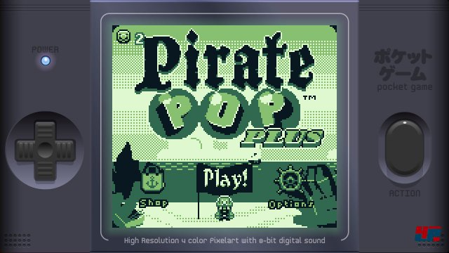 Screenshot - Pirate Pop Plus (3DS)