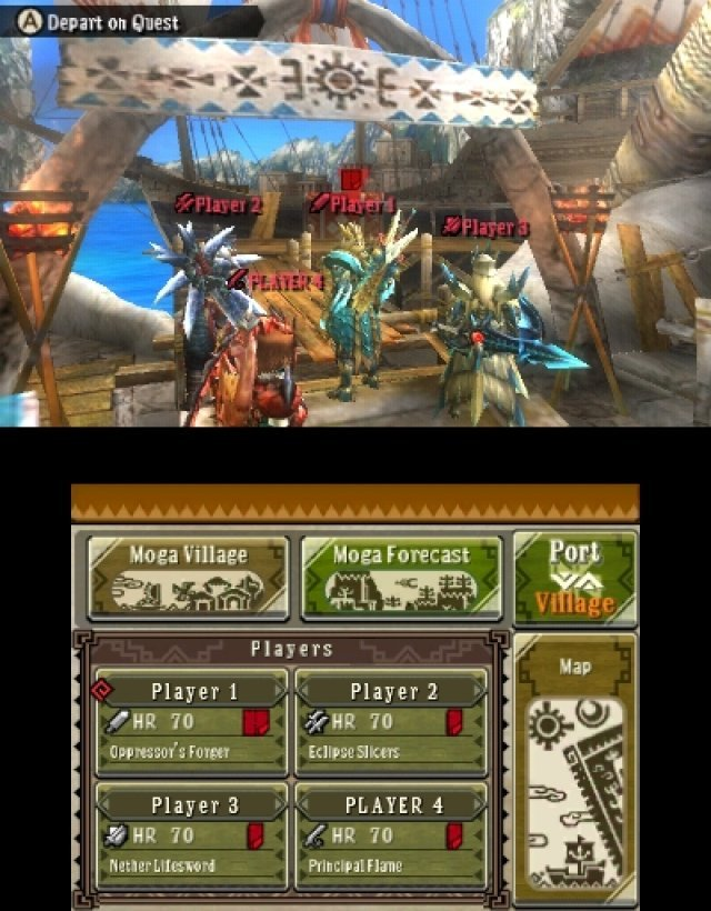 Screenshot - Monster Hunter 3 Ultimate (3DS) 92439802
