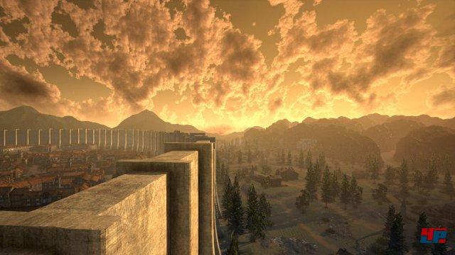 In der Welt von Attack on Titan leben die Menschen hinter riesigen Schutzwällen.