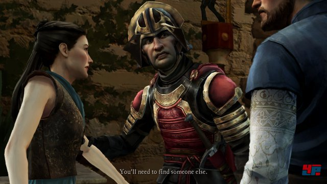 Screenshot - Game of Thrones - Episode 3: The Sword in the Darkness (iPad) 92502865