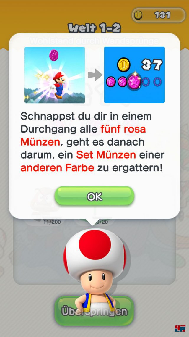 Screenshot - Super Mario Run (iPad) 92537681