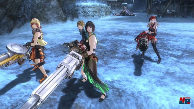 Screenshot - God Eater Resurrection (PC)