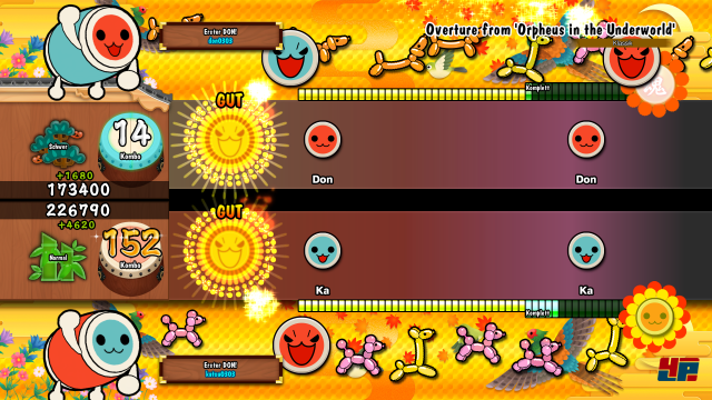 Screenshot - Taiko no Tatsujin: Drum Session (PS4)