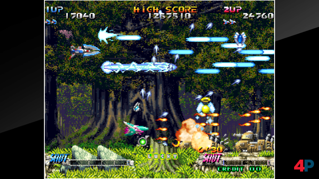 Screenshot - ACA NeoGeo: Blazing Star (PS4)