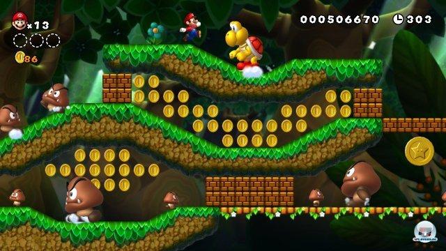 Es ist nicht das schwerste Mario-Abenteuer aller Zeiten, aber auch fern vom lächerlichen Schwierigkeitsgrad eines NSMB 2 entfernt.