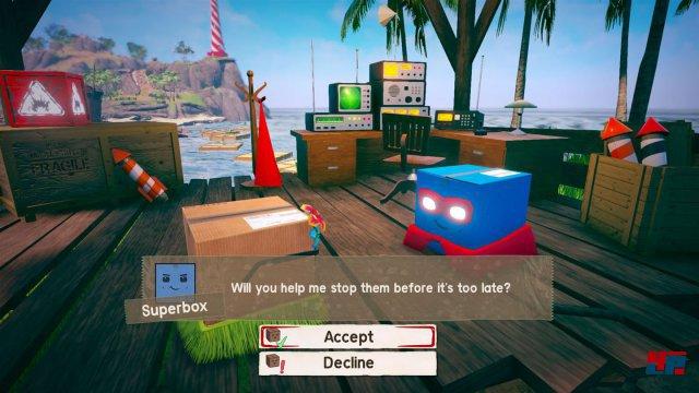 Screenshot - Unbox: Newbie's Adventure (PC) 92549894