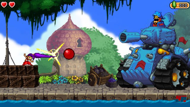 Screenshot - Shantae and the Pirate's Curse (Wii_U)