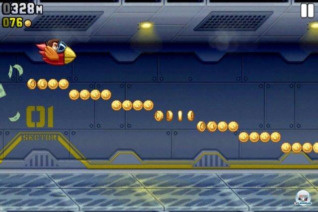 Screenshot - Jetpack Joyride (iPhone) 2259137