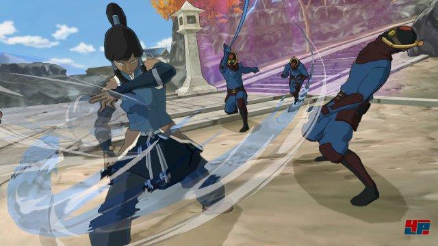 Die Kämpfe sind dynamisch und spiegeln die Erfahrung von Platinum Games wider.