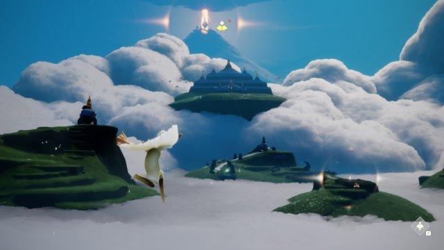 Augenschmaus: Sky: Kinder des Lichts fährt ein paar Areale auf, die trotz der technischen Defizite absolut umwerfend aussehen.