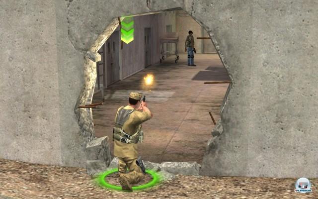 Doof: Mauern können nur an vorbestimmten Stellen gesprengt werden.