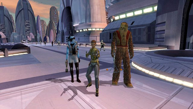 Screenshot - Star Wars: Knights of the Old Republic (Switch)