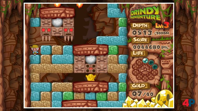 Screenshot - Mr. Driller: DrillLand (PC)