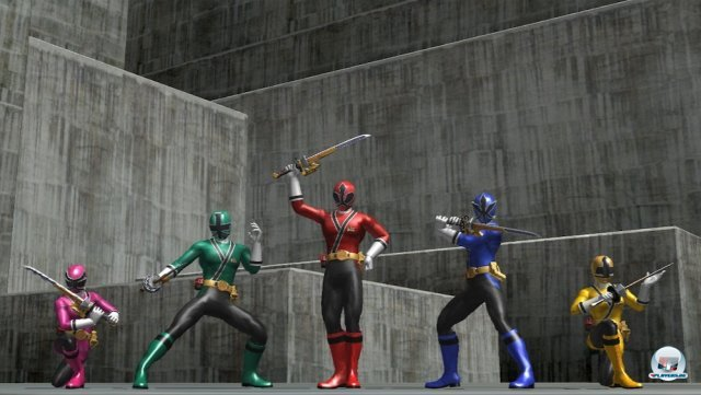 Screenshot - Power Rangers: Super Samurai (360)
