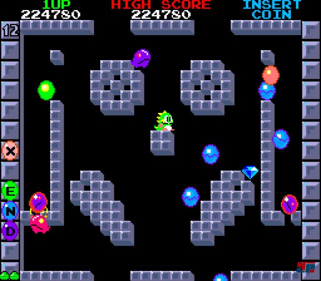 Screenshot - Bubble Bobble (Oldie) (PC) 92493584