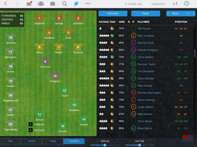 Screenshot - Pro Rugby Manager 2015 (iPad) 92486529
