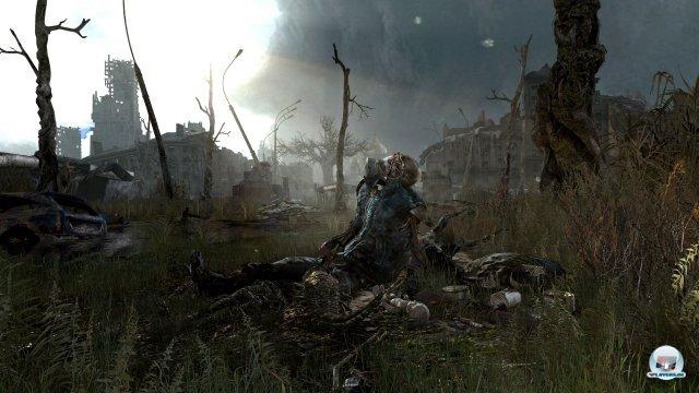 Die düster-bedrückende Atmosphäre ist einer der Stützpfeile des Spielerlebnisses.