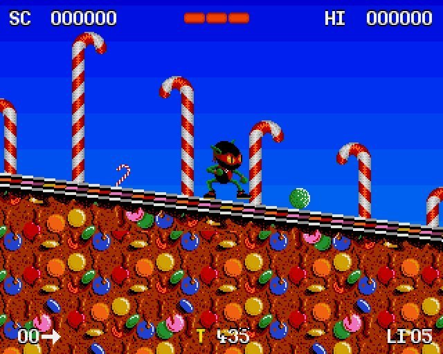 Screenshot - Zool (PC)