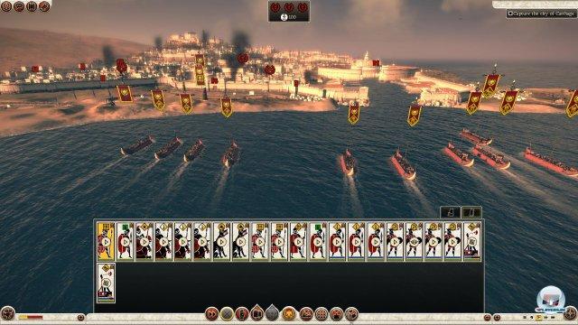 Die Schlacht um Karthago sieht epischer aus als sie sich spielt.