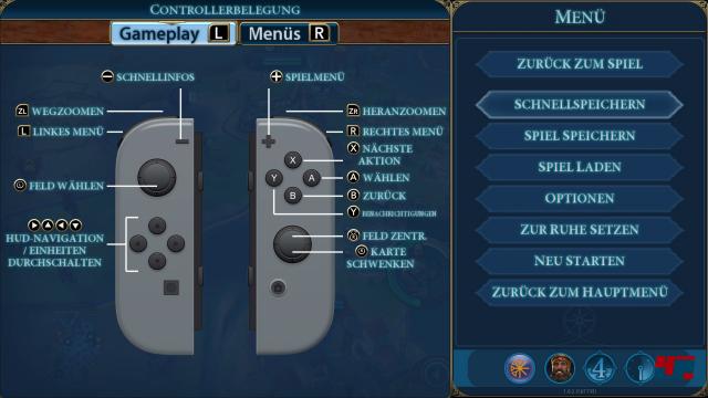 Die Steuerung geht auf Nintendos Konsole gut von der Hand - egal, ob mit Tasten oder Touch.