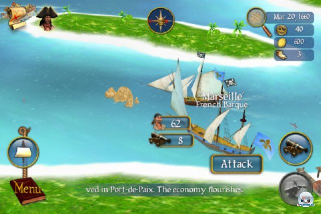 Screenshot - Sid Meier's Pirates! (iPad) 92464527