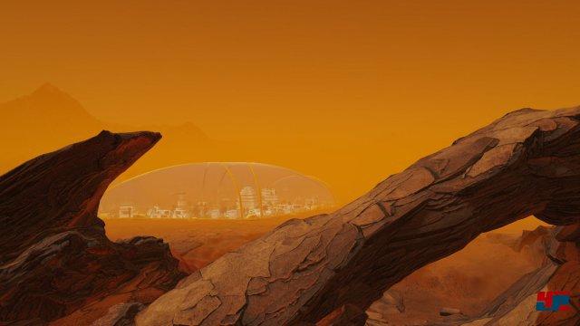 Screenshot - Surviving Mars: Space Race (Linux)