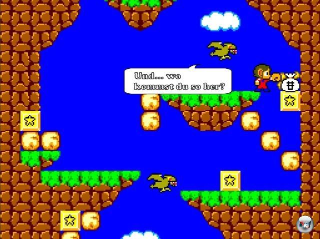 <b>Alex Kidd:</b><br><br>Der arme Knirps hatte nach seinem glorreichen Einstand auf dem Master System ohnehin kein Glück im Spiel mehr - aber vielleicht in der Liebe? Scheint mir die perfekte Basis für eine Dating-Simulation zu sein. Oder einen Sims-Abklatsch. 1869283
