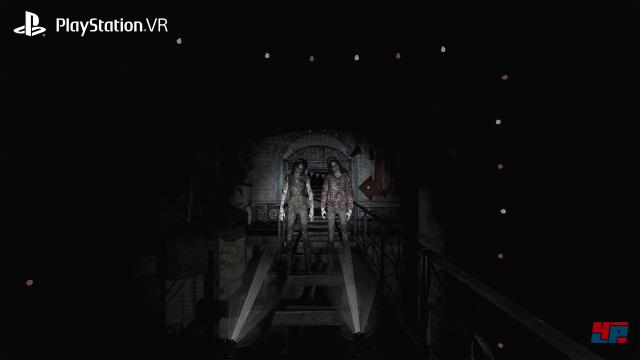 Die VR-Variante von Until Dawn ist mal Achterbahn, mal Geisterbahn und immer Lightgun-Shooter.