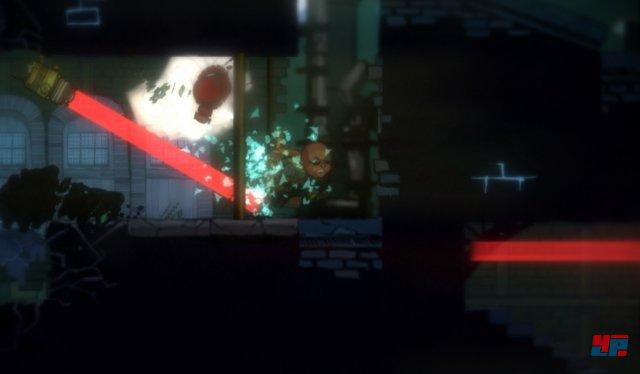 Wer es nach einem Alarm nicht mehr in die rettende Raketenkapsel schafft, wird durch einen der zahlreichen anderen Diebe ersetzt - was für den Spieler aber keine ernsten Konsequenzen hat.