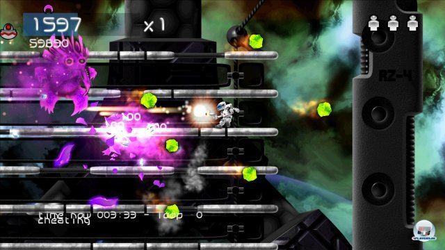 Screenshot - Alien Zombie Megadeath (PC)