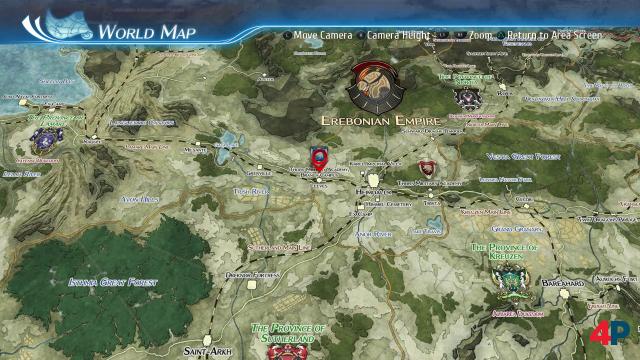 Auf der zu bereisenden Landkarte entdeckt man sowohl vertraute als auch neue Schauplätze.