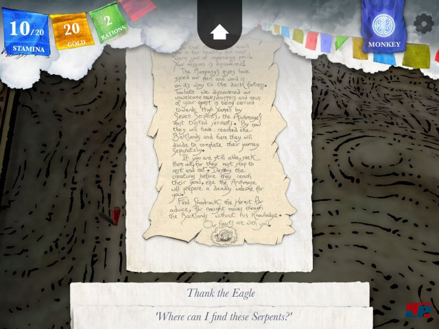 Screenshot - Sorcery! - Teil 3 (iPad) 92503535